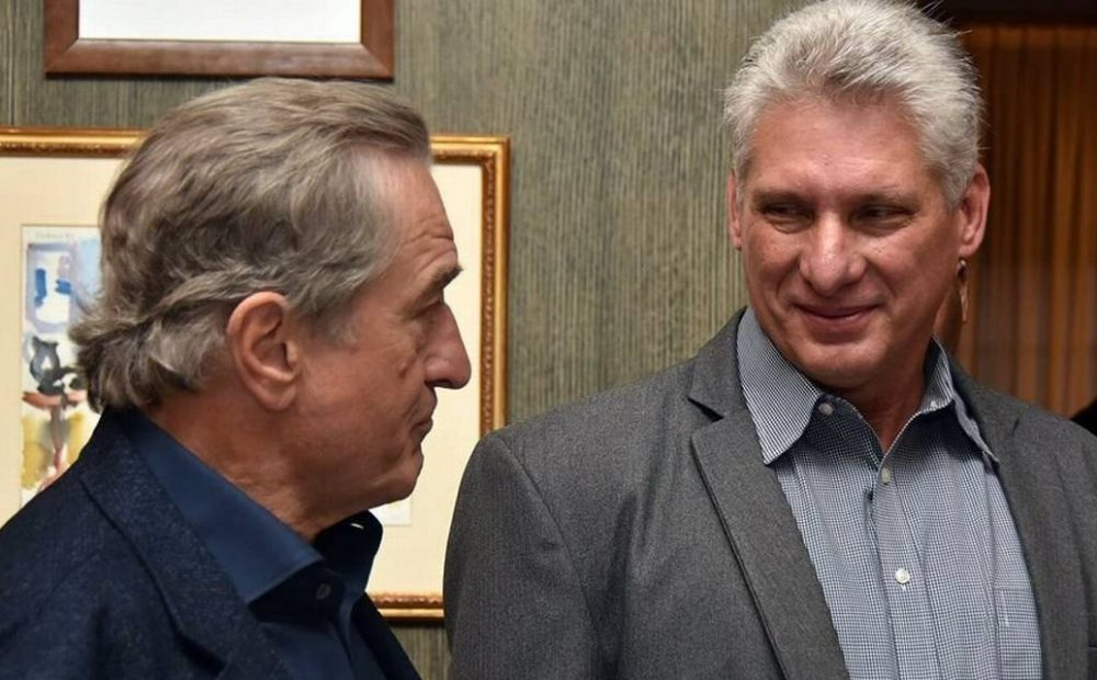 diaz camel y actor Robert de Niro