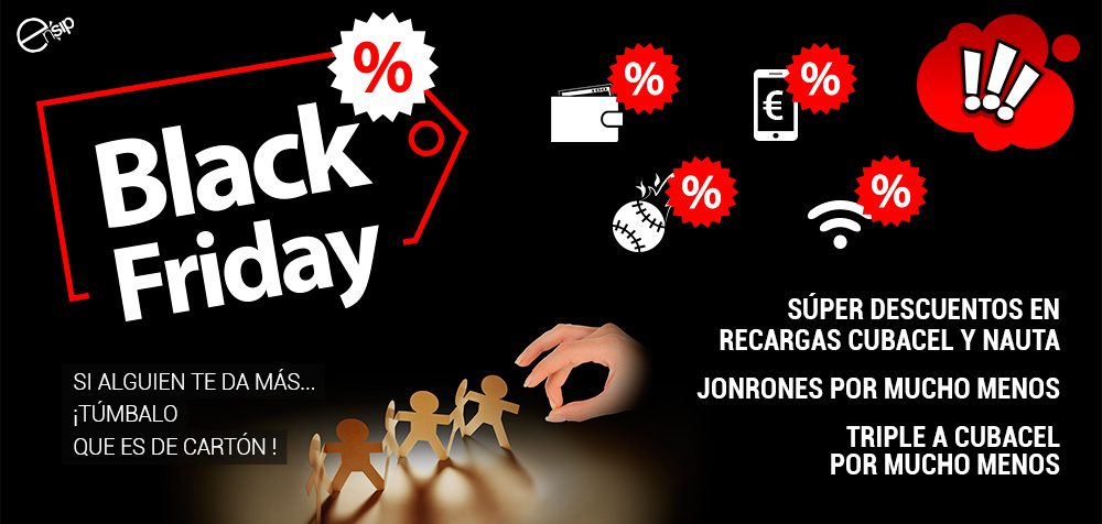 - Descuentos Black Friday